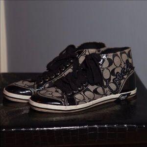 Coach Tennis shoes sneakers Black
